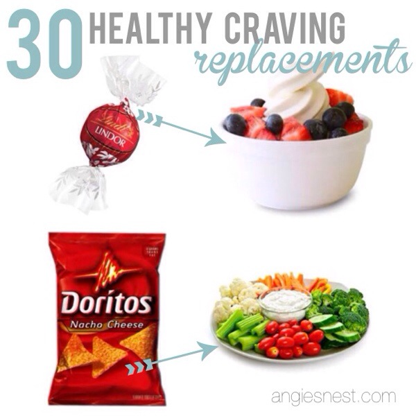30 healthy craving replacements