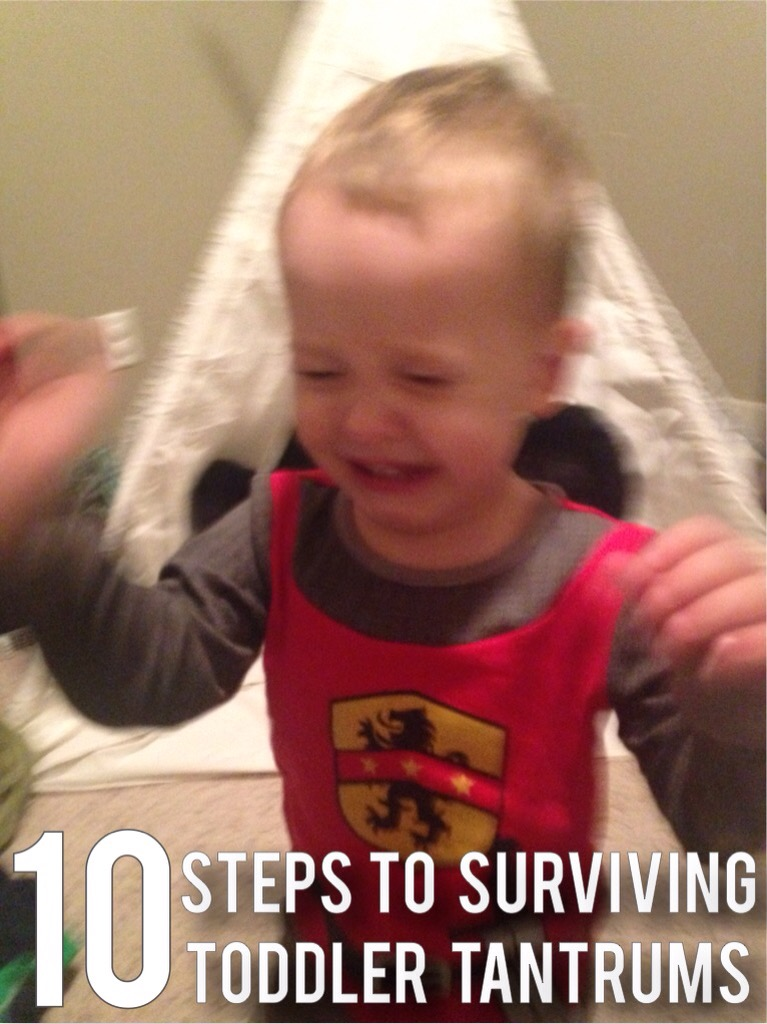 10 tips to surviving toddler tantrums