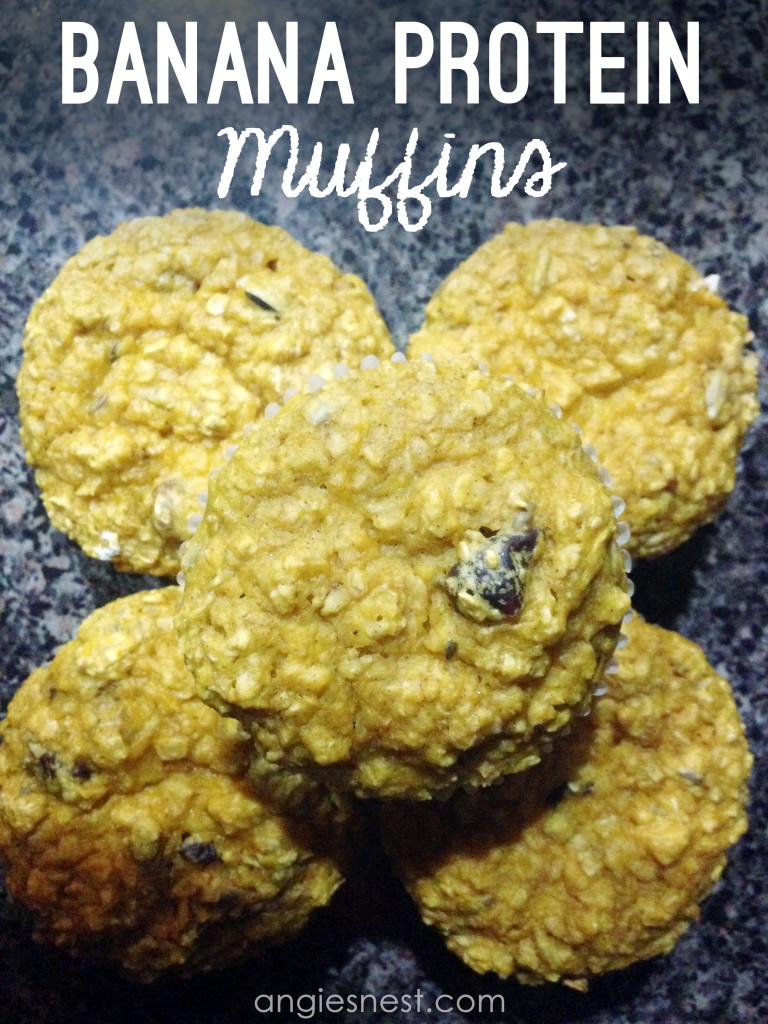 banana protein muffin recipe