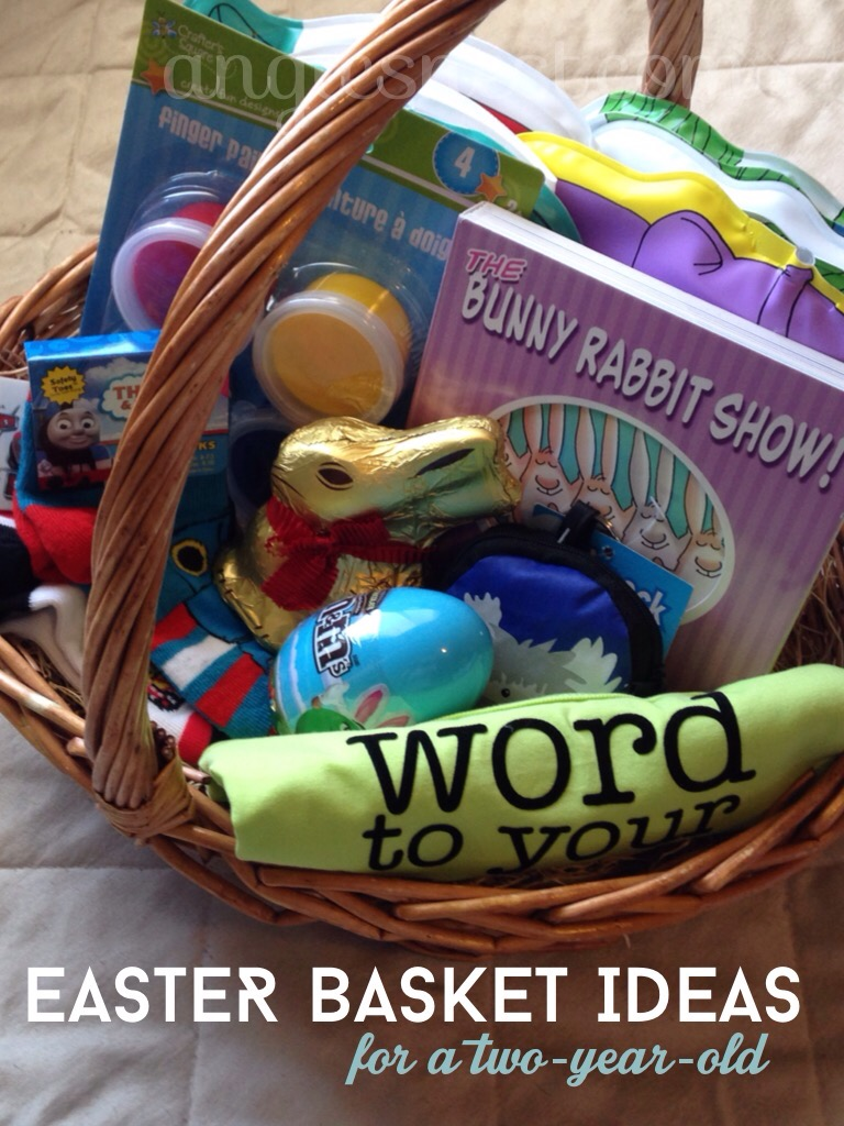 Mom tips angies nest 2 year old easter basket negle