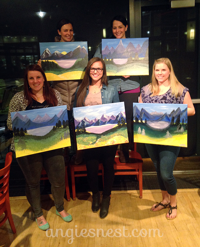 review of paint nite